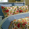 Melissa Cotton Reversible Quilt Set