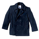 US Navy Peacoat - Navy Blue