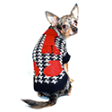 Hip Doggie Houndstooth Sweater