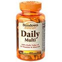 Daily Multi 100 caps - Sundown Naturals