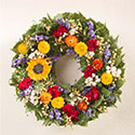 Handcrafted Tuscan Sunflower Indoor Wreath