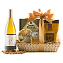 Chardonnay Wine & Cheese Gift Basket