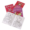 Kid's Valentine Coloring Books