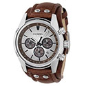 Fossil Men's Decker Leather Strap Watch