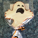 Halloween Ghost Lollipops - 6 pieces