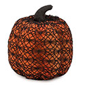Medium Crochet Pumpkin Halloween Accent