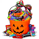 No Tricks..Only Treats Halloween Gift Basket