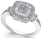 Diamond Vintage-Inspired Ring 1/2 ct. t.w.