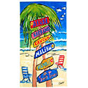 Great Beaches Adult Beach Towel