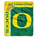 Oregon Ducks Plush Throw Blanket