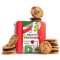 Merry Christmas Assorted Cookies Tin