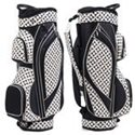 Black & White Geometric Prints Golf Bag